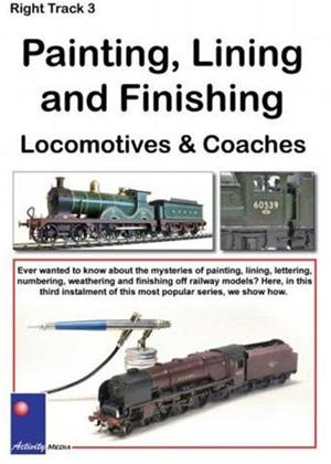 Rent Right Track 3: Painting, Lining and Finishing Locomotives Online DVD Rental