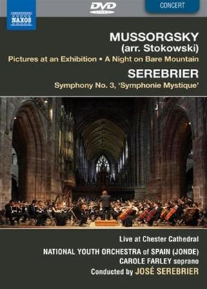 Rent National Youth Orchestra of Spain: Mussorgsky/Serebrier Online DVD Rental