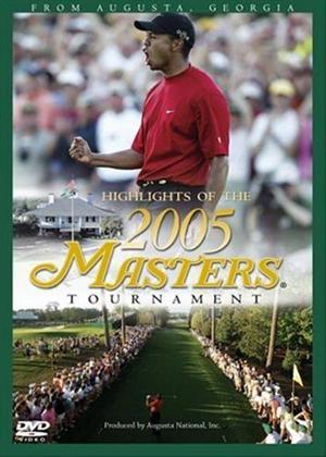 Rent Augusta Masters 2005 Online DVD Rental
