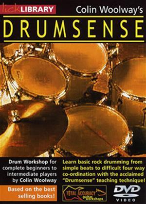 Rent Colin Woolway's Drumsense: Vol.1 Online DVD Rental