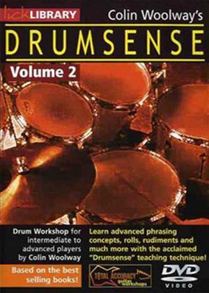 Rent Colin Woolway's Drumsense: Vol.2 Online DVD Rental