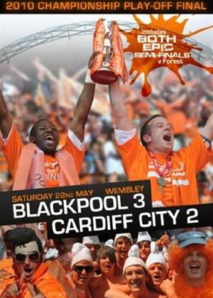 Rent 2010 Championship Play Off Final: Blackpool 3 Cardiff City 2 Online DVD Rental