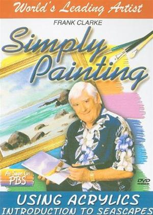 Rent The Simply Painting: Introduction to Seascapes Acrylics Online DVD Rental