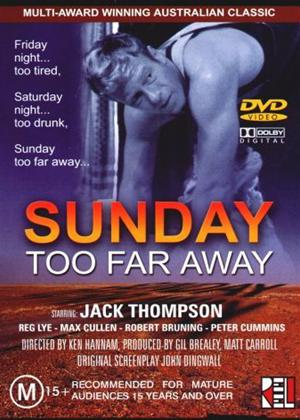 Rent Sunday Too Far Away Online DVD Rental