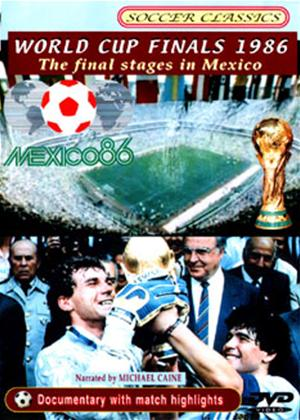 Rent World Cup Finals 1986: The Final Stages in Mexico Online DVD Rental