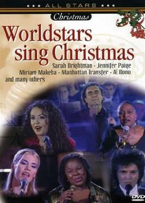 Rent World Stars Sing Christmas Online DVD Rental