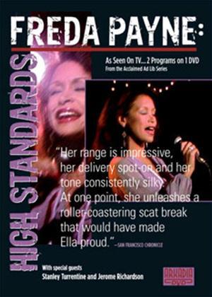 Rent Freda Payne: High Standards Online DVD Rental