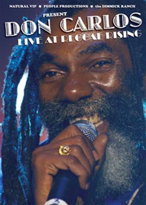 Rent Don Carlos: Live at Reggae Rising Online DVD Rental