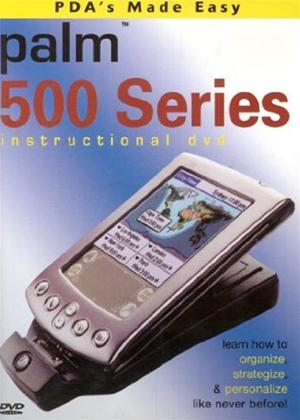 Rent PDA's Made Easy: Palm 500 Series: Instructional DVD Online DVD Rental