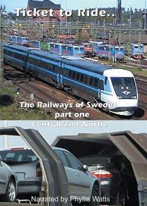 Rent Ticket to Ride: Railways of Sweden Online DVD Rental
