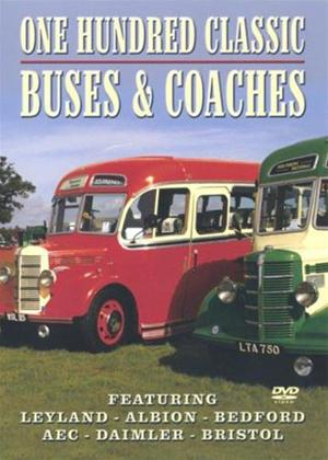 Rent One Hundred Classic Buses and Coaches Online DVD Rental