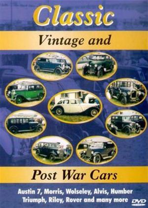 Rent Classic Vintage and Post War Cars Online DVD Rental