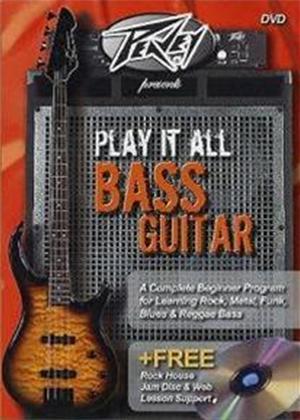 Rent Play It All Bass Guitar Online DVD Rental