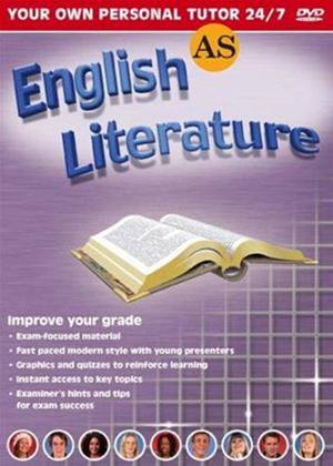 Rent AS English Literature Revision Online DVD Rental