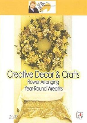 Rent Creative Decor and Crafts: Flower Arranging: Year-Round Wreaths Online DVD Rental