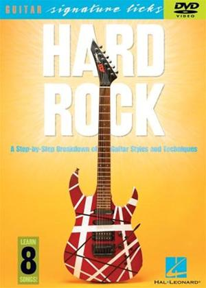 Rent Hard Rock: Guitar Styles and Techniques Online DVD Rental