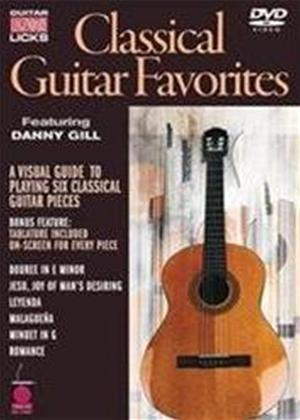 Rent Classical Guitar Favorites: Legendary Licks Online DVD Rental