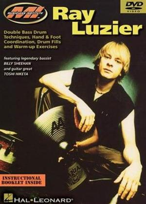 Rent Ray Luzier: Double Bass Drum Techniques Online DVD Rental