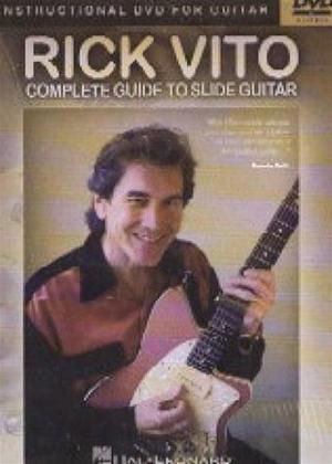Rent Rick Vito: Complete Guide to Slide Guitar Online DVD Rental