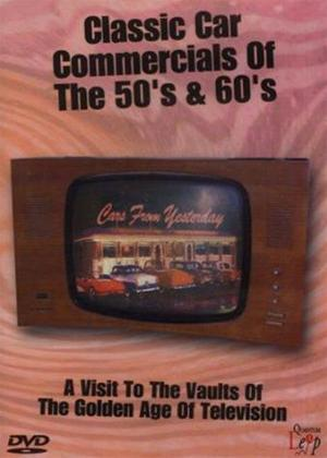 Rent Classic Car Commercials of the 50s and 60s Online DVD Rental