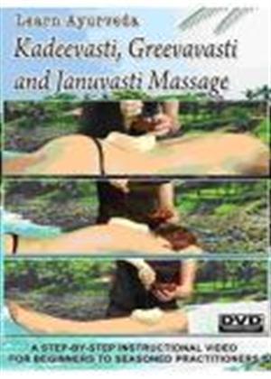 Rent Learn Ayurveda: Kadeevasti, Greevavasti and Januvasti Online DVD Rental