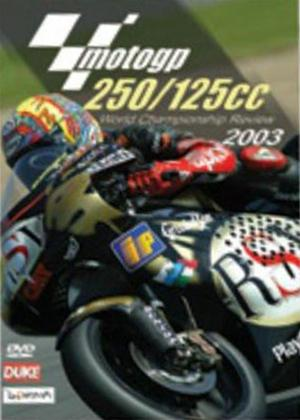 Rent Moto GP 125 / 250 Review: 2003 Online DVD Rental