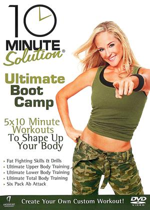 Rent 10 Minute Solution: Ultimate Boot Camp Online DVD Rental