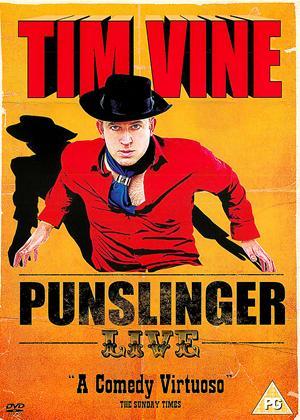 Rent Tim Vine: Punslinger Live Online DVD Rental