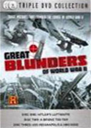 Rent Great Blunders of World War 2 Online DVD Rental