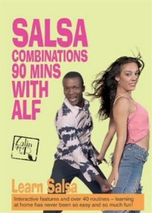 Rent Salsa Combinations: 90 Minutes with Alf Online DVD Rental