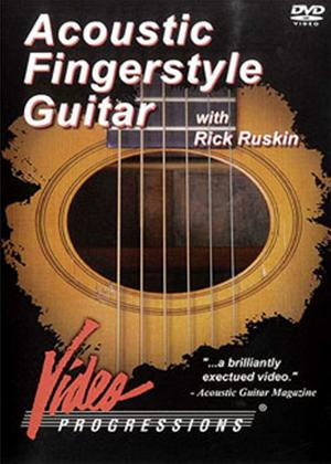 Rent Acoustic Fingerstyle Guitar with Rick Ruskin Online DVD Rental