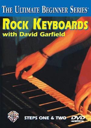 Rent The Ultimate Beginner Series: Rock Keyboard Steps 1 and 2 Online DVD Rental