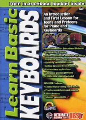 Rent Ultimate Beginner Series Junior: Learn Basic Keyboards Online DVD Rental