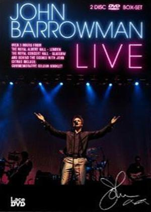 Rent John Barrowman: Live Online DVD Rental