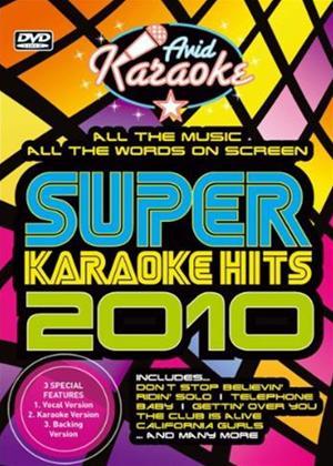 Rent Super Karaoke Hits 2010 Online DVD Rental