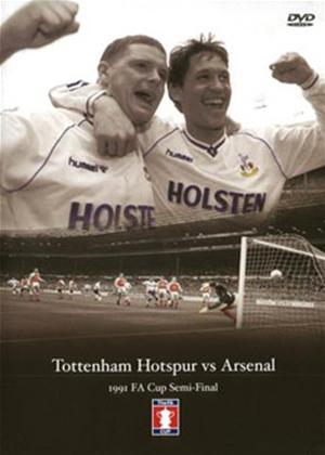 Rent Tottenham Hotspur vs Arsenal: 1991 FA Cup Semi Final Online DVD Rental