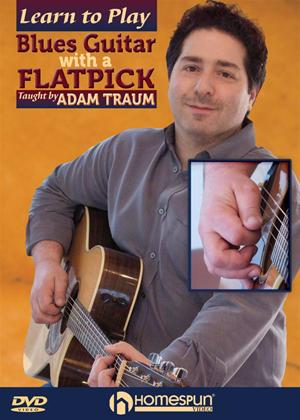 Rent Learn to Play Blues Guitar with a Flatpick Online DVD Rental