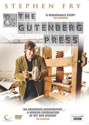 Rent Stephen Fry and the Gutenberg Press Online DVD Rental