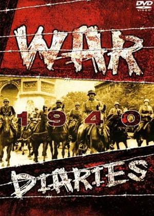 Rent War Diaries: World War 2: 1940 Online DVD Rental