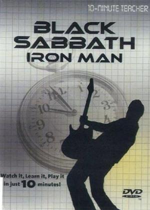 Rent 10 Minute Teacher: Black Sabbath: Iron Man Online DVD Rental