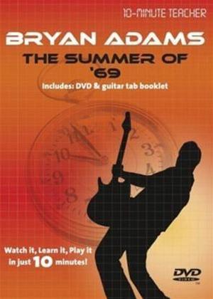 Rent 10 Minute Teacher: Bryan Adams: The Summer of 69 Online DVD Rental