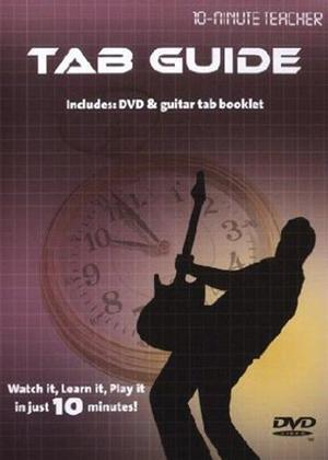 Rent 10 Minute Teacher: Tab Guide Online DVD Rental