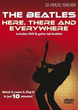 Rent 10 Minute Teacher: The Beatles: Here There and Everywhere Online DVD Rental