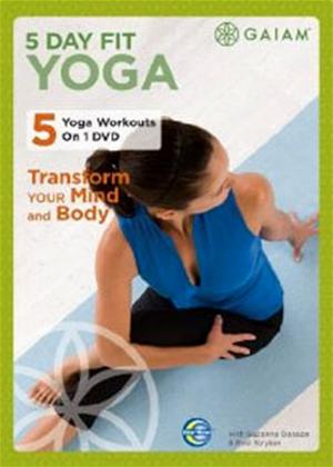 Rent 5 Day Fit Yoga Online DVD Rental