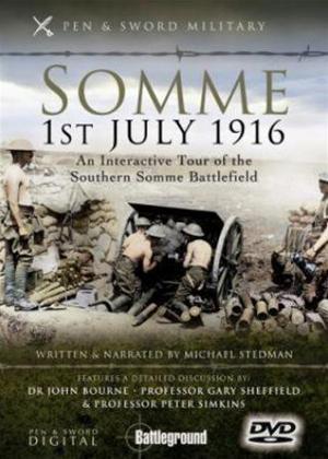 Rent Somme 1st July 1916: Southern Battlefield Online DVD Rental