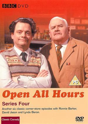 Rent Open All Hours: Series 4 Online DVD Rental