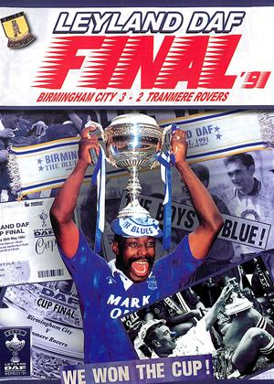 Rent Leyland DAF Trophy Final 1991 Birmingham City 3 Tranmere Rovers 2 Online DVD Rental