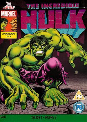 Rent Incredible Hulk: Series 1: Vol.2 Online DVD Rental
