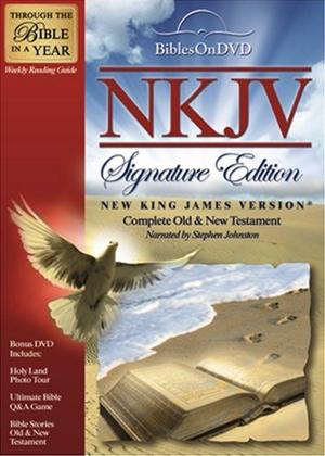 Rent New King James Version Signature Edition Bible Online DVD Rental