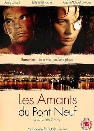 Rent The lovers on the bridge (aka Les Amants Du Pont-Neuf) Online DVD & Blu-ray Rental